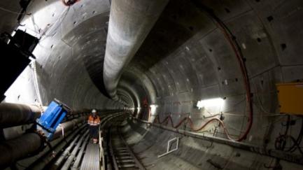 Tweede boor NZ-lijn bereikt de Dam